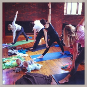 Mum and Baby Yoga Kingston Hampton Wick Teddington image