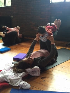 Practising Mum and Baby Yoga Kingston, Hampton Wick and Teddington
